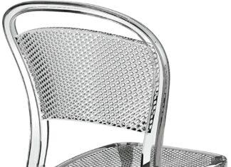 Krzesło przezroczyste dla fanów nowoczesności