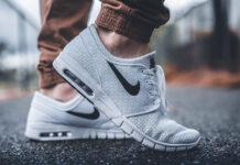 Białe sneakersy na wiosnę dla mężczyzn